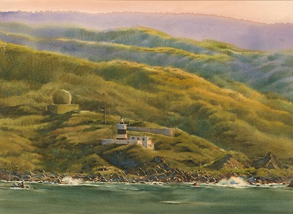 洪東標 黃昏的富貴角Fuguei Cape in the Dusk