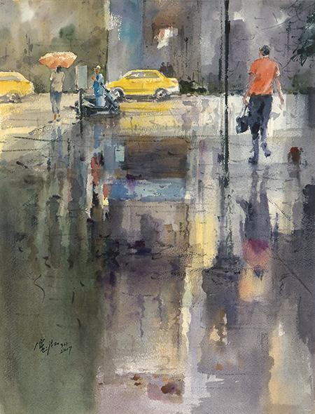 蘇憲法 雨後都會Metropolis after the Rain