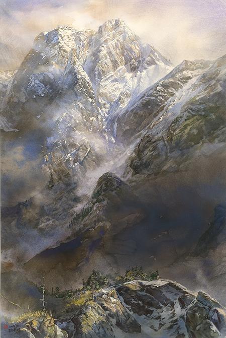 郭明福 藏峰Misty Peak