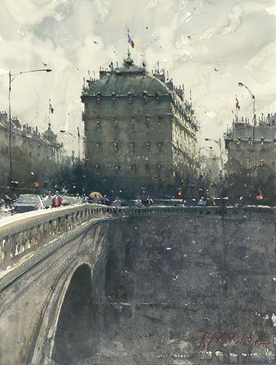 Across The Saine_ Paris